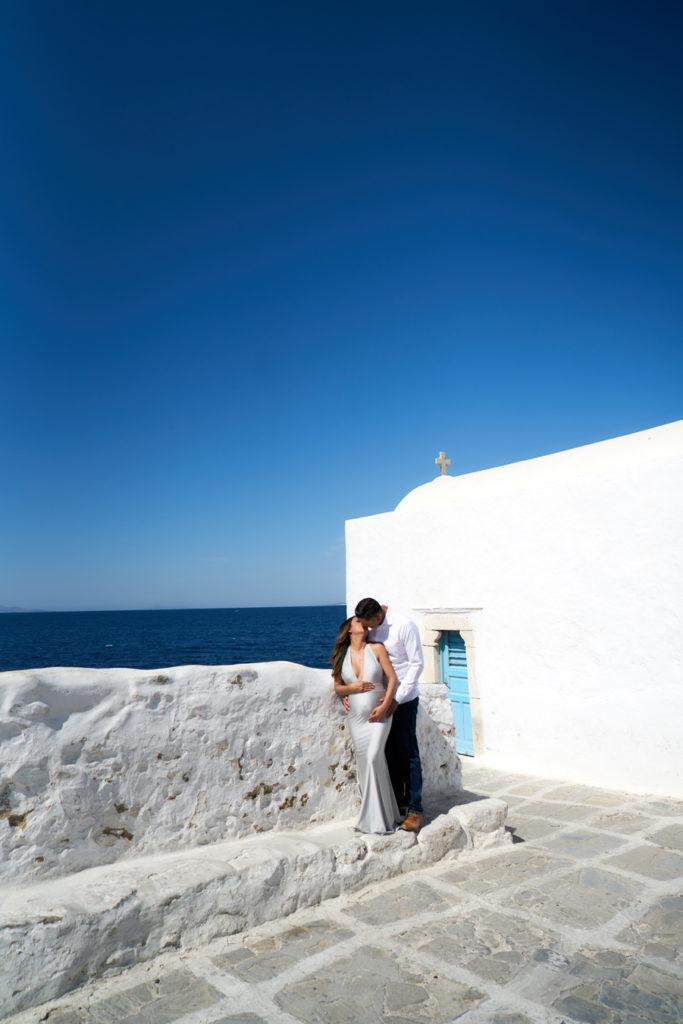 Mykonos maternity photography